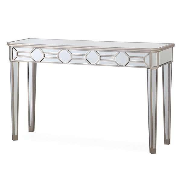 ROSIE Mirrored Decorative Console Table L120cm x D40cm x H77.5cm